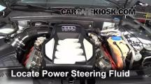 2008 Audi S5 4.2L V8 Power Steering Fluid