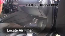 2008 Audi TT Quattro 3.2L V6 Coupe Filtro de aire (interior)