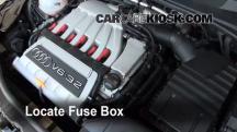 2008 Audi TT Quattro 3.2L V6 Coupe Fusible (motor)