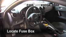 2008 Audi TT Quattro 3.2L V6 Coupe Fusible (interior)