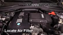 2008 BMW 535xi 3.0L 6 Cyl. Turbo Sedan Filtro de aire (motor)