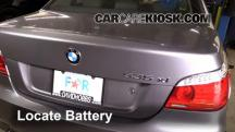 2008 BMW 535xi 3.0L 6 Cyl. Turbo Sedan Battery