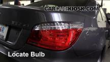 2008 BMW 535xi 3.0L 6 Cyl. Turbo Sedan Luces