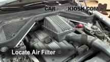 2008 BMW X5 3.0si 3.0L 6 Cyl. Filtro de aire (interior)