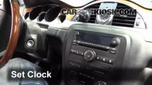 2008 Buick Enclave CXL 3.6L V6 Clock