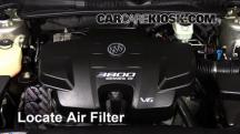 2008 Buick Lucerne CXL 3.8L V6 Air Filter (Engine)