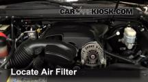 2008 Cadillac Escalade 6.2L V8 Air Filter (Engine)