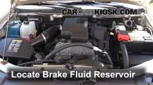 2008 Chevrolet Colorado WT 2.9L 4 Cyl. Standard Cab Pickup (2 Door) Brake Fluid