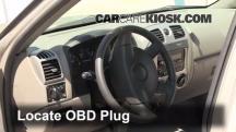 2008 Chevrolet Colorado WT 2.9L 4 Cyl. Standard Cab Pickup (2 Door) Compruebe la luz del motor