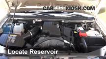 2008 Chevrolet Colorado WT 2.9L 4 Cyl. Standard Cab Pickup (2 Door) Líquido limpiaparabrisas