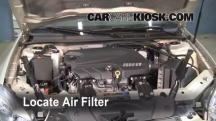 2008 Chevrolet Impala LT 3.5L V6 FlexFuel Air Filter (Engine)