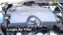2008 Chevrolet Uplander LS 3.9L V6 Air Filter (Engine)