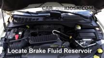 2008 Chrysler Aspen Limited 5.7L V8 Brake Fluid