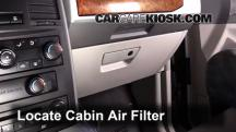 2008 Chrysler Town and Country Touring 3.8L V6 Filtro de aire (interior)