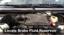 2008 Dodge Sprinter 2500 3.0L V6 Turbo Diesel Standard Passenger Van Líquido de frenos