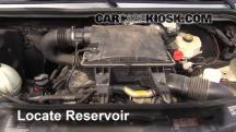 2008 Dodge Sprinter 2500 3.0L V6 Turbo Diesel Standard Passenger Van Líquido limpiaparabrisas