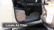 2008 Ford Edge SE 3.5L V6 Filtro de aire (interior)