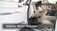 2008 Ford Escape XLT 3.0L V6 Capó