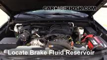 2008 Ford Explorer Sport Trac XLT 4.0L V6 Brake Fluid