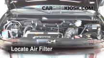 2008 Honda Element SC 2.4L 4 Cyl. Air Filter (Engine)