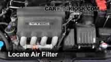 2008 Honda Fit 1.5L 4 Cyl. Air Filter (Engine)