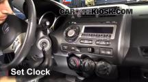 2008 Honda Fit 1.5L 4 Cyl. Clock