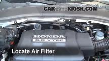2008 Honda Ridgeline RTL 3.5L V6 Air Filter (Engine)