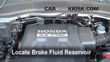 2008 Honda Ridgeline RTL 3.5L V6 Brake Fluid