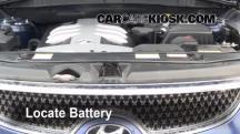 2008 Hyundai Veracruz GLS 3.8L V6 Battery