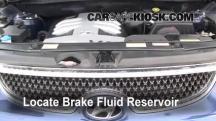 2008 Hyundai Veracruz GLS 3.8L V6 Brake Fluid