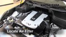 2008 Infiniti EX35 Journey 3.5L V6 Air Filter (Engine)