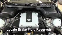 2008 Infiniti EX35 Journey 3.5L V6 Brake Fluid
