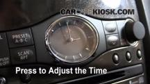 2008 Infiniti EX35 Journey 3.5L V6 Clock