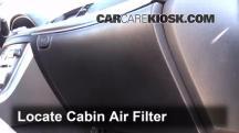 2008 Infiniti M35 X 3.5L V6 Filtro de aire (interior)