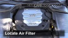 2008 Infiniti M35 X 3.5L V6 Air Filter (Engine)