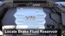 2008 Infiniti M35 X 3.5L V6 Brake Fluid