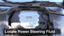 2008 Infiniti M35 X 3.5L V6 Power Steering Fluid