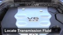 2008 Infiniti M35 X 3.5L V6 Líquido de transmisión