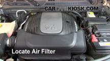 2008 Jeep Commander Limited 5.7L V8 Air Filter (Engine)