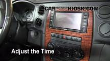2008 Jeep Commander Limited 5.7L V8 Clock