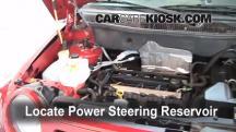 2008 Dodge Caliber SE 2.0L 4 Cyl. Power Steering Fluid