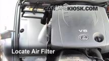 2008 Lexus IS250 2.5L V6 Air Filter (Engine)
