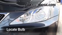 2008 Lexus IS250 2.5L V6 Lights