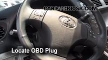 2008 Lexus IS250 2.5L V6 Check Engine Light