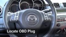 2008 Mazda 3 S 2.3L 4 Cyl. Hatchback Compruebe la luz del motor