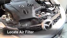 2008 Mazda CX-7 Sport 2.3L 4 Cyl. Turbo Air Filter (Engine)