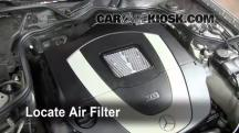 2008 Mercedes-Benz E350 4Matic 3.5L V6 Sedan Air Filter (Engine)