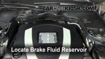 2008 Mercedes-Benz E350 4Matic 3.5L V6 Sedan Brake Fluid