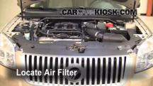 2008 Mercury Sable Premier 3.5L V6 Air Filter (Engine)