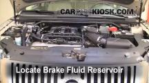 2008 Mercury Sable Premier 3.5L V6 Brake Fluid